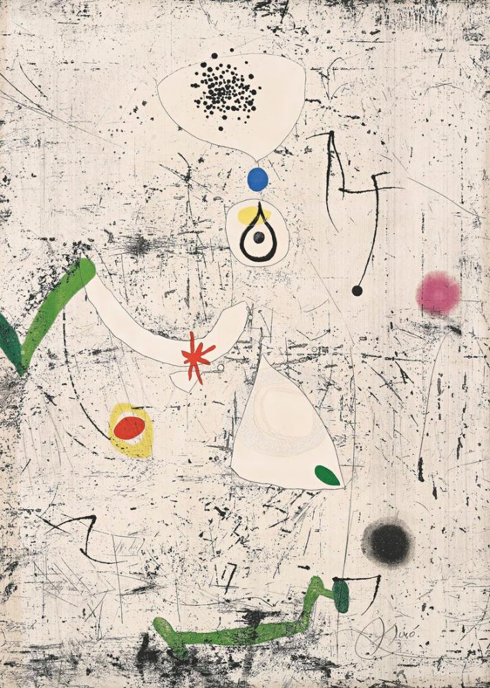 Joan Miro Salvat Papasseit, Figür, Joan Miro, kanvas tablo, canvas print sales