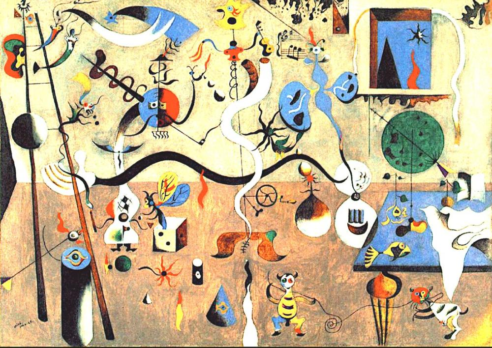 Joan Miro Karnaval, Figür, Joan Miro, kanvas tablo, canvas print sales