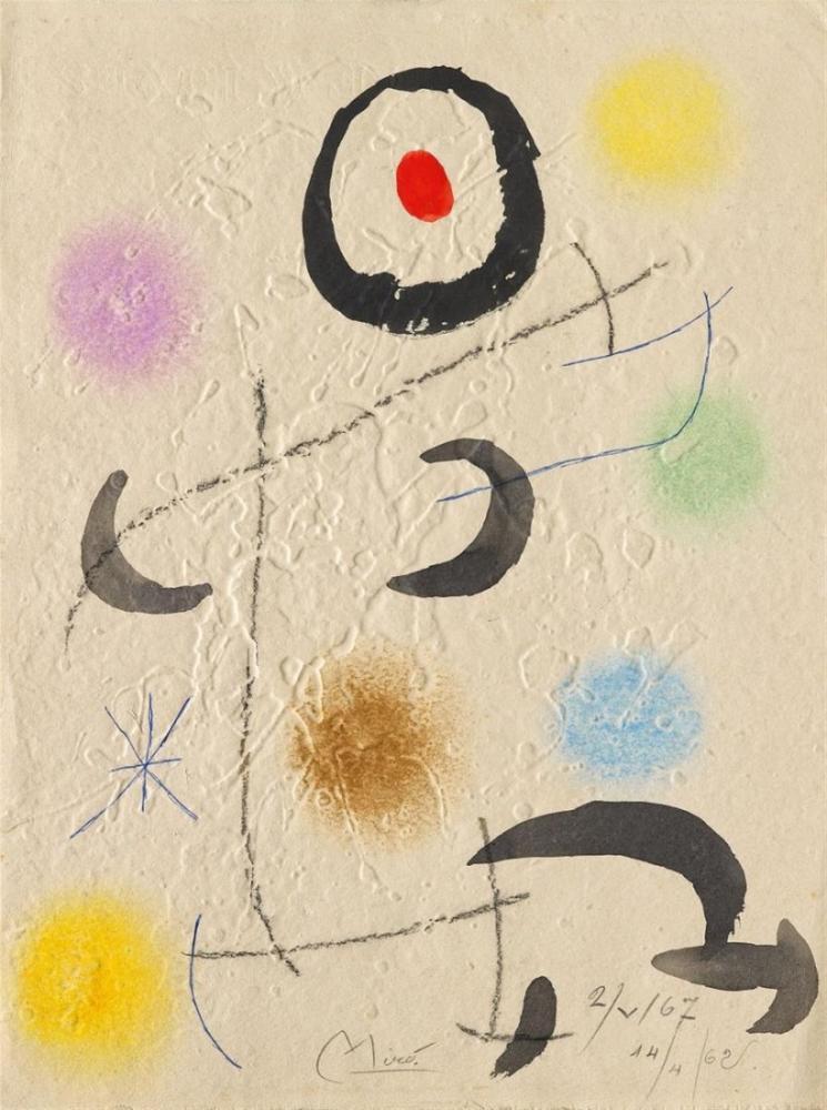Joan Miro Sans Titre IV, Figure, Joan Miro, kanvas tablo, canvas print sales