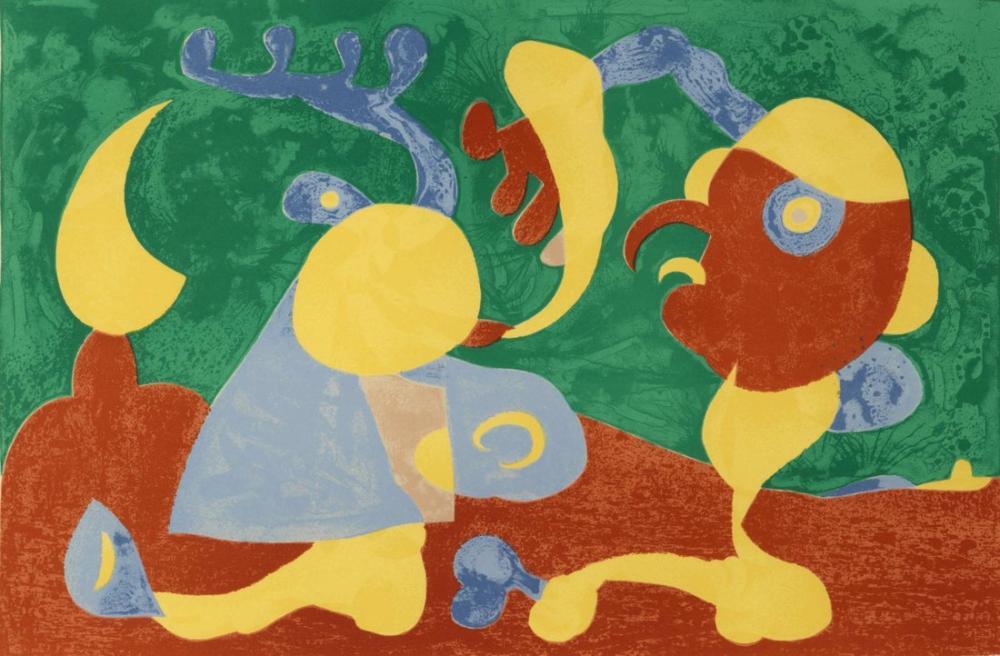 Joan Miro Suites Pour Ubu Roi, Figure, Joan Miro, kanvas tablo, canvas print sales