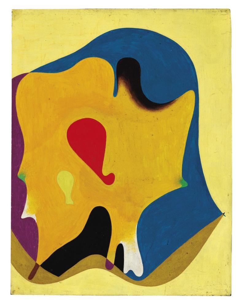 Joan Miro İnsan Başı 1932, Figür, Joan Miro, kanvas tablo, canvas print sales