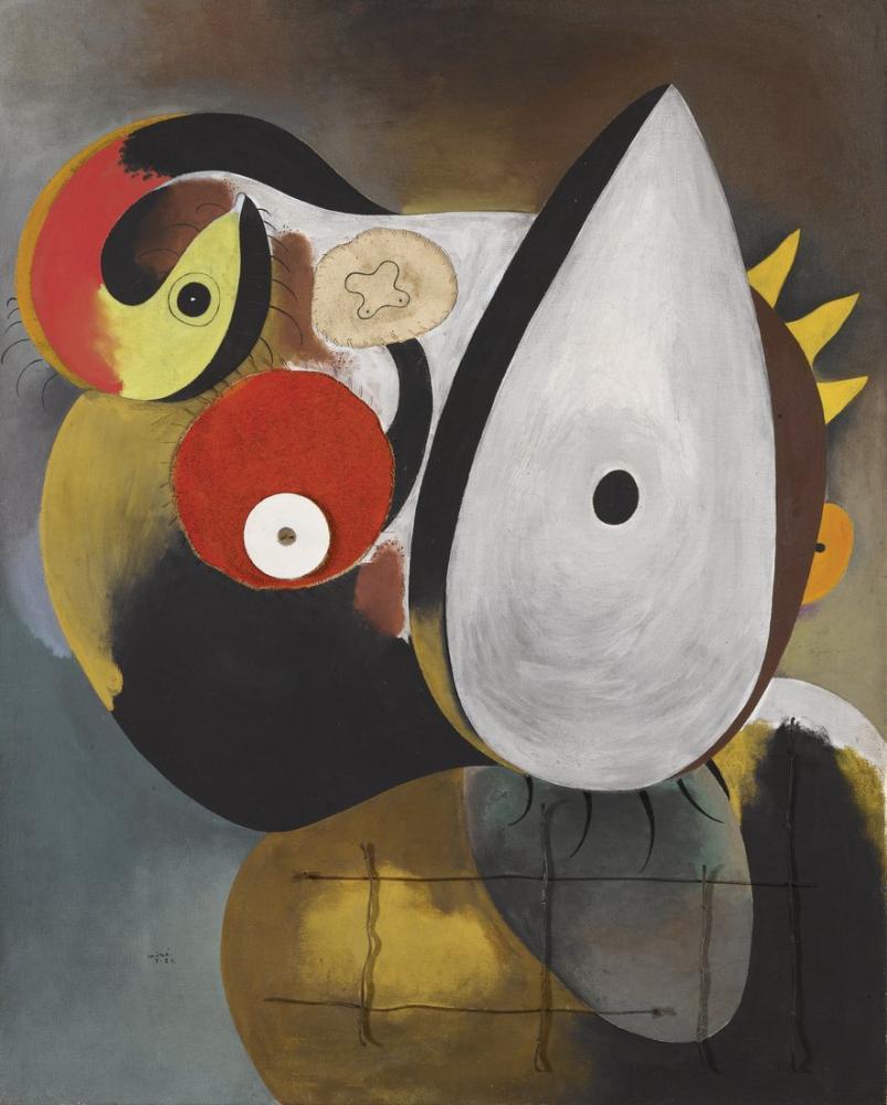 Joan Miro İnsan Kafası, Figür, Joan Miro, kanvas tablo, canvas print sales