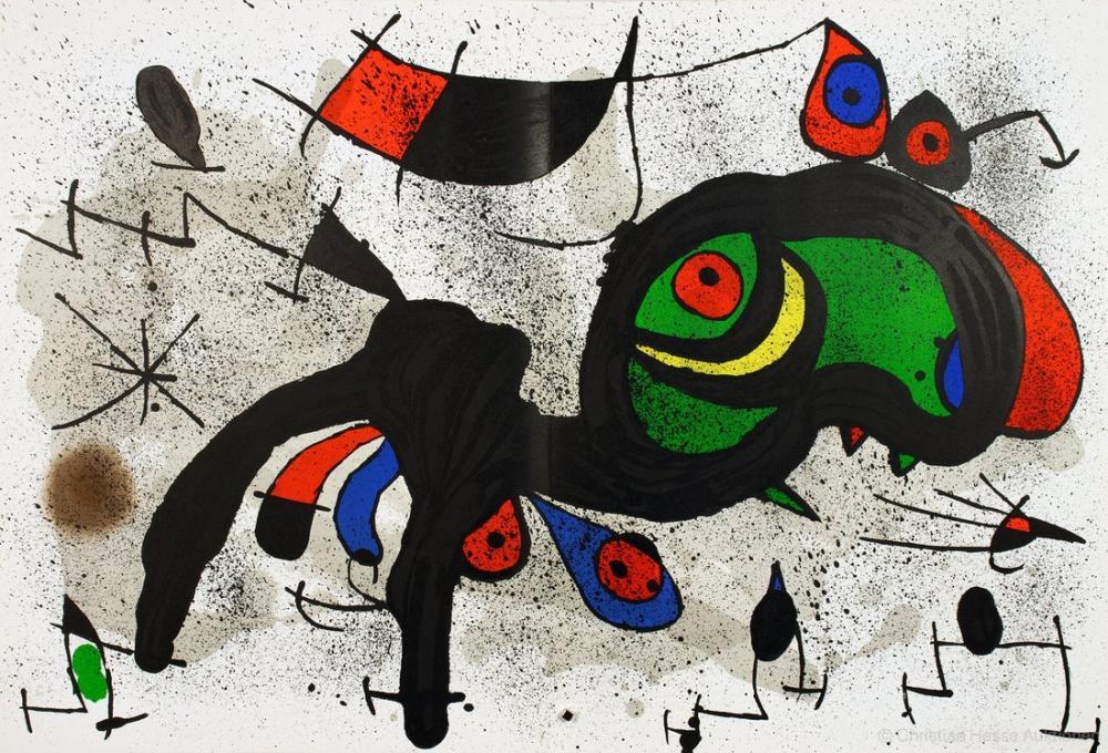 Joan Miro The Blooming Ram, Figure, Joan Miro, kanvas tablo, canvas print sales