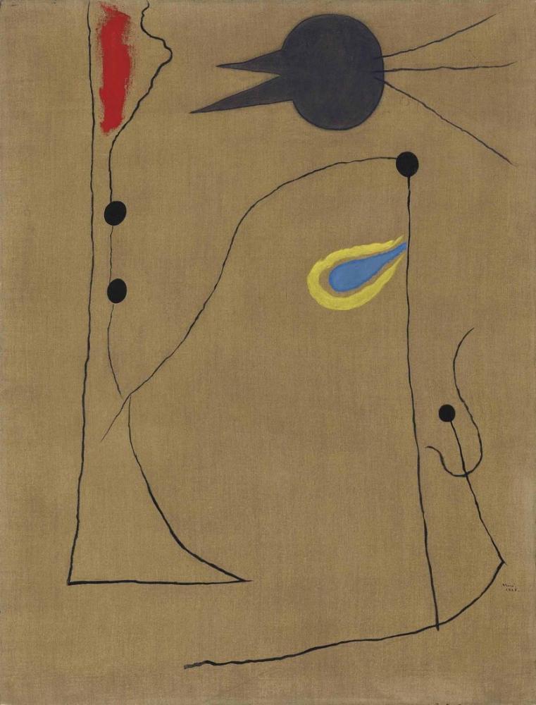 Joan Miro Egoist, Figür, Joan Miro, kanvas tablo, canvas print sales