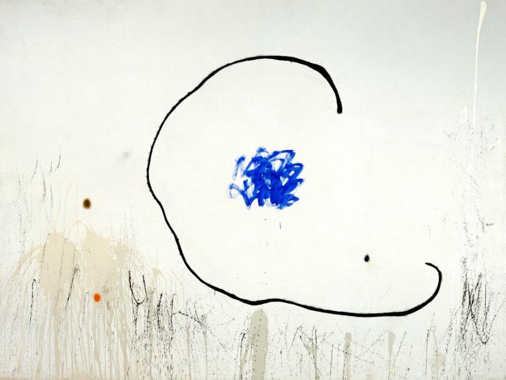 Joan Miro Mahkum Bir Adamın Umudu II, Figür, Joan Miro, kanvas tablo, canvas print sales