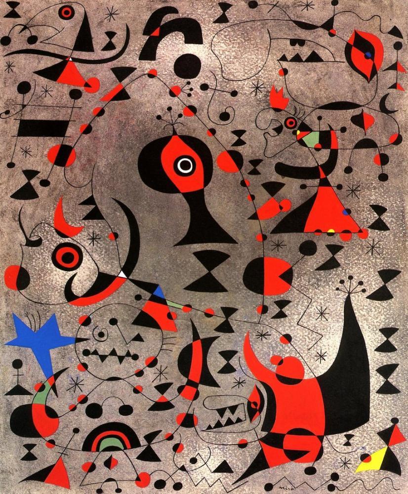 Joan Miro Takımyıldızlar, Figür, Joan Miro, kanvas tablo, canvas print sales