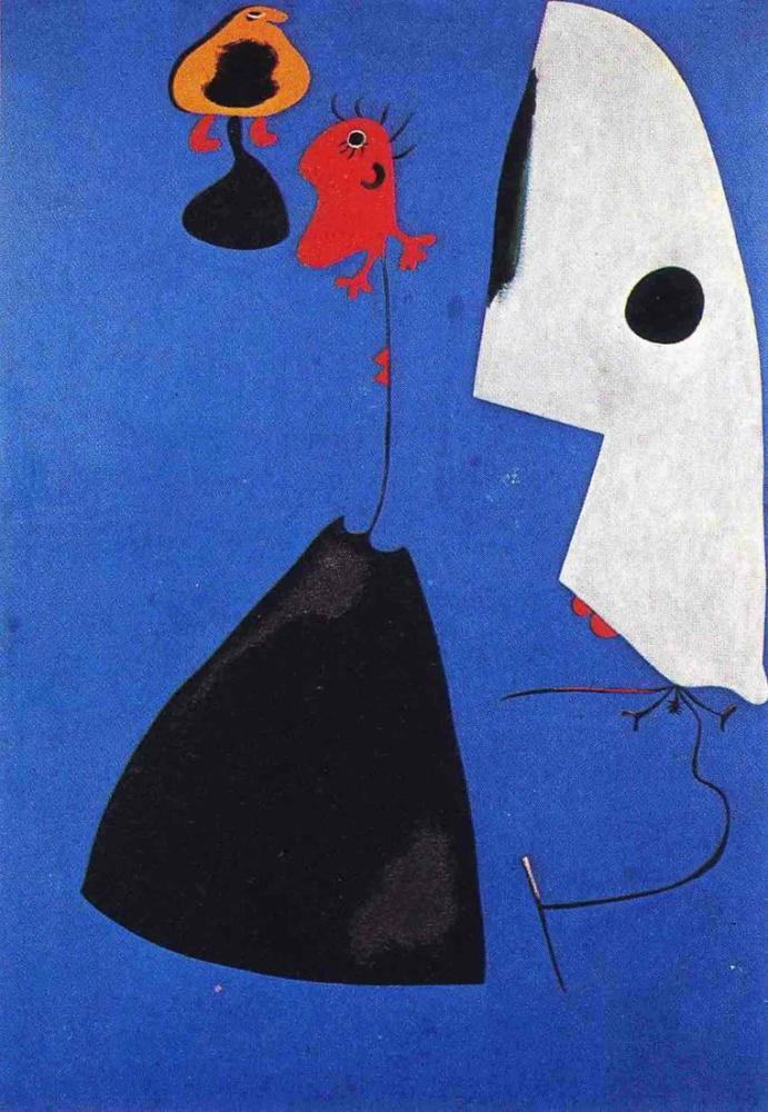 Joan Miro Three Women, Figure, Joan Miro, kanvas tablo, canvas print sales
