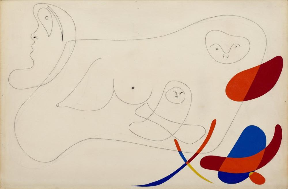 Joan Miro Untitled August 1934, Figure, Joan Miro, kanvas tablo, canvas print sales
