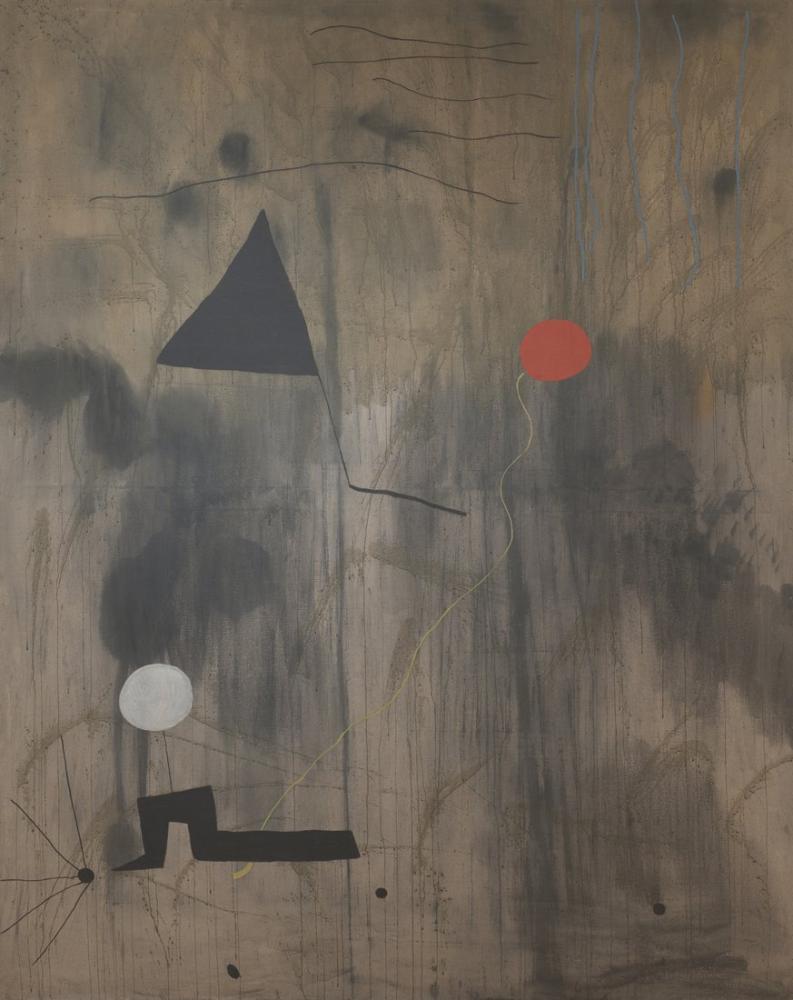 Joan Miro Dünyanın Doğuşu, Figür, Joan Miro, kanvas tablo, canvas print sales