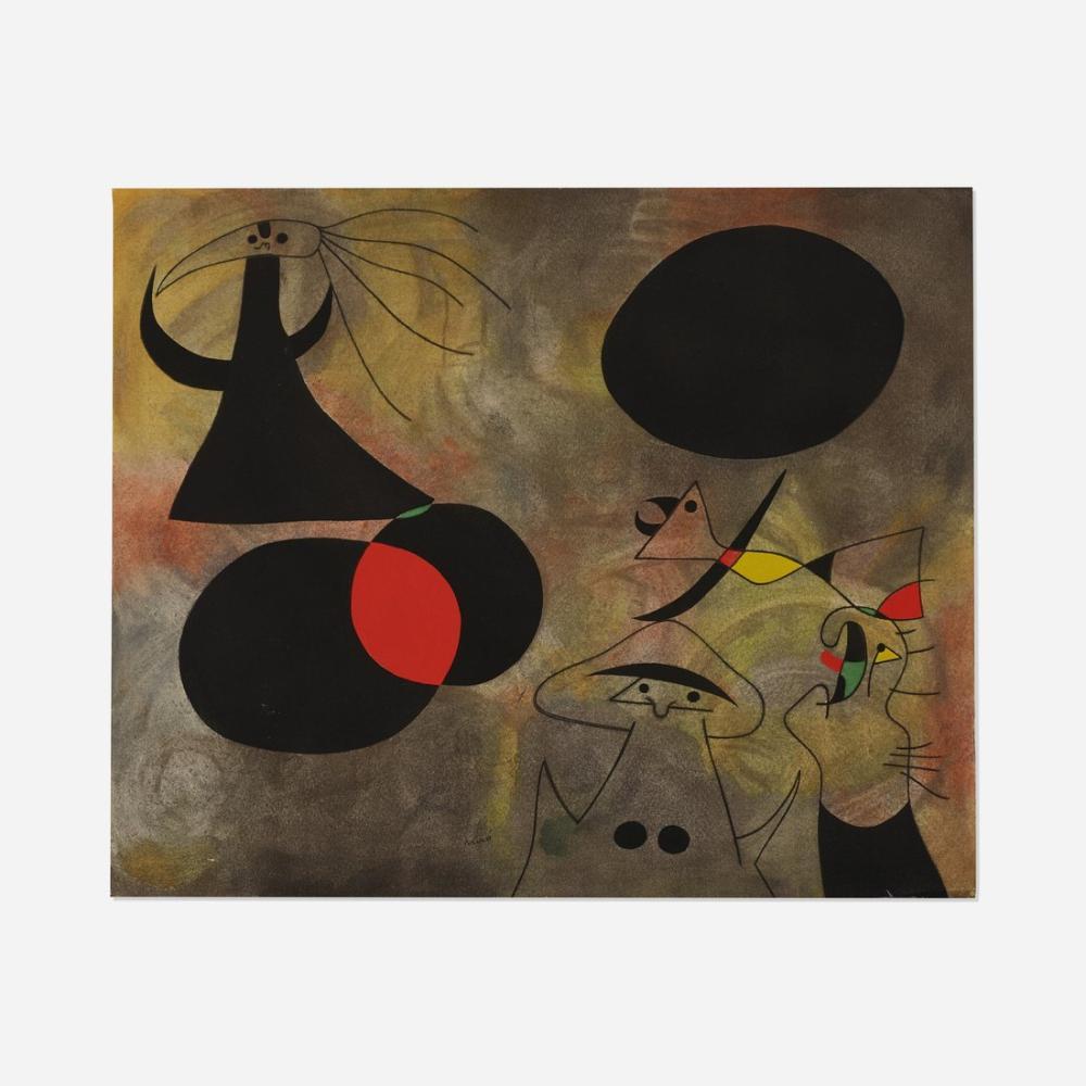 Joan Miro Takımyıldızlar Portföyü, Figür, Joan Miro, kanvas tablo, canvas print sales