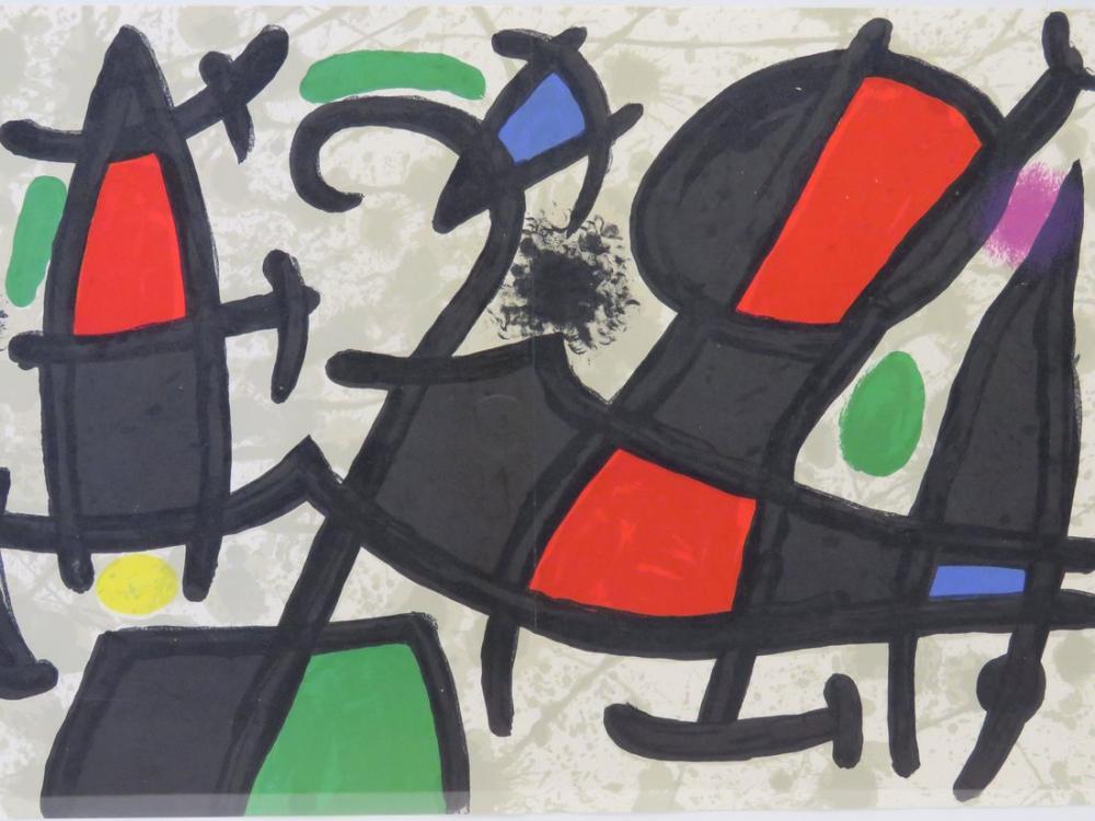 Joan Miro İr Arkasında, Figür, Joan Miro, kanvas tablo, canvas print sales