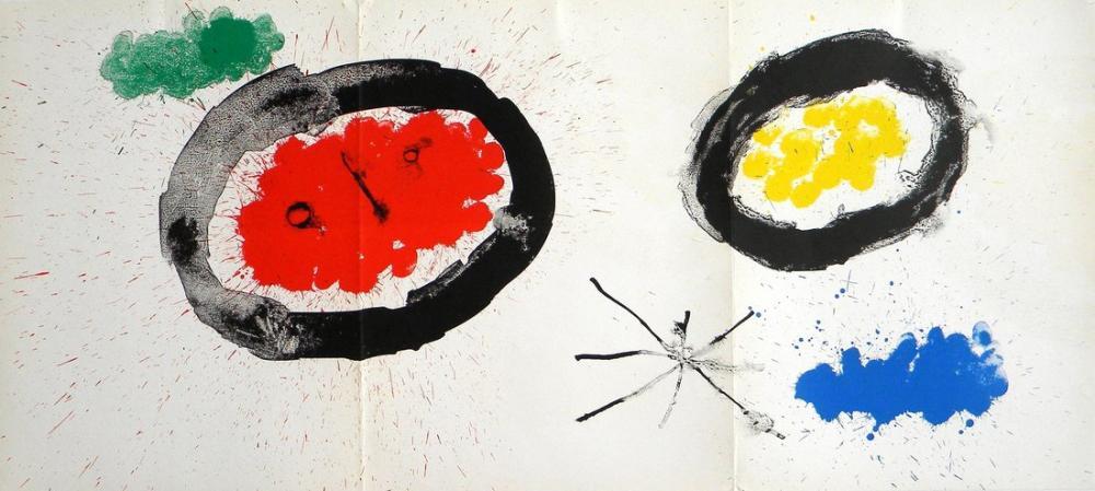 Joan Miro Behind the İr, Figure, Joan Miro, kanvas tablo, canvas print sales