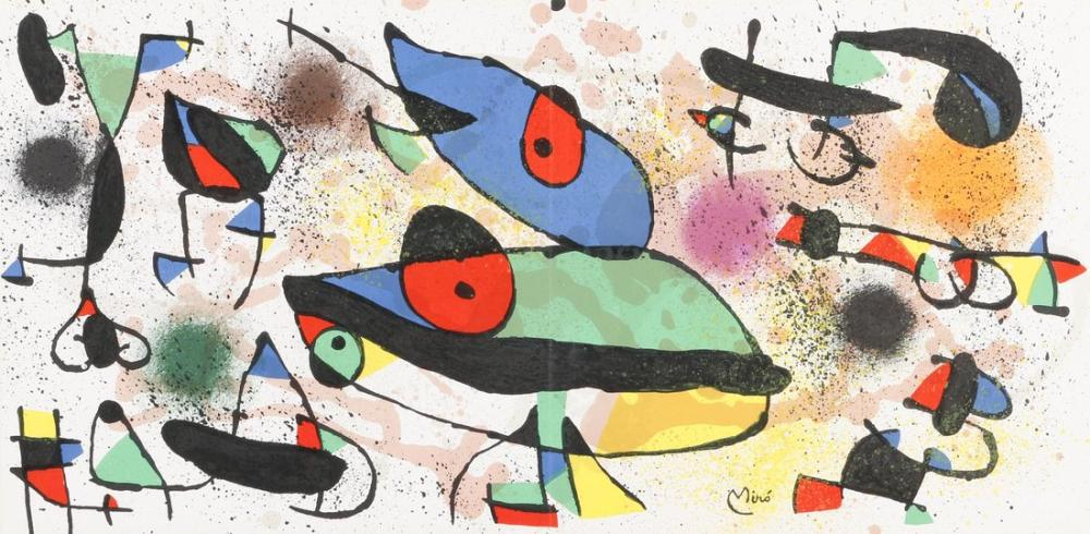 Joan Miro Dorotheum, Figür, Joan Miro, kanvas tablo, canvas print sales