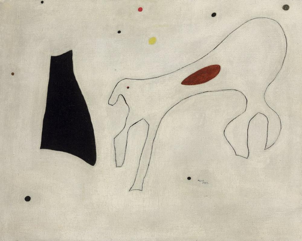 Joan Miro Köpek, Figür, Joan Miro, jm53