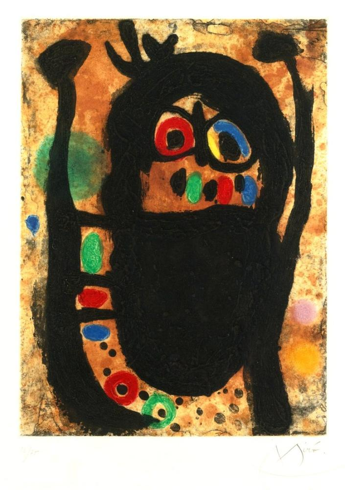 Joan Miro Kadın Mücevherleri, Figür, Joan Miro, kanvas tablo, canvas print sales
