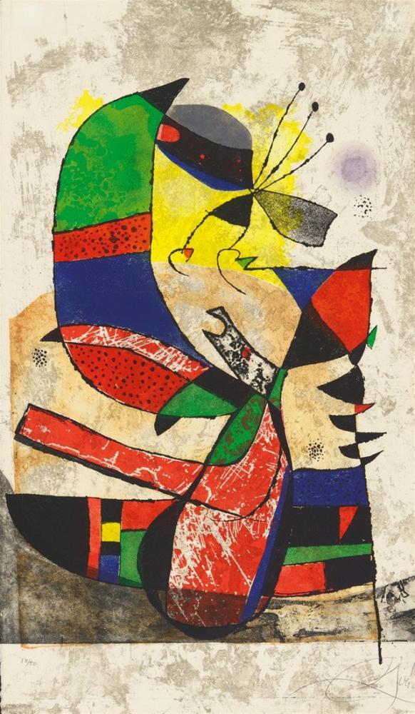 Joan Miro Gaudi I, Figür, Joan Miro, jm99
