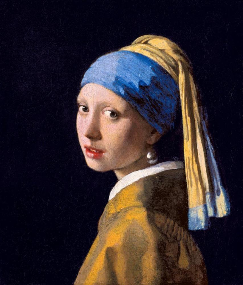 Johannes Vermeer Girl With Pearl Earring, Canvas, Johannes Vermeer, kanvas tablo, canvas print sales