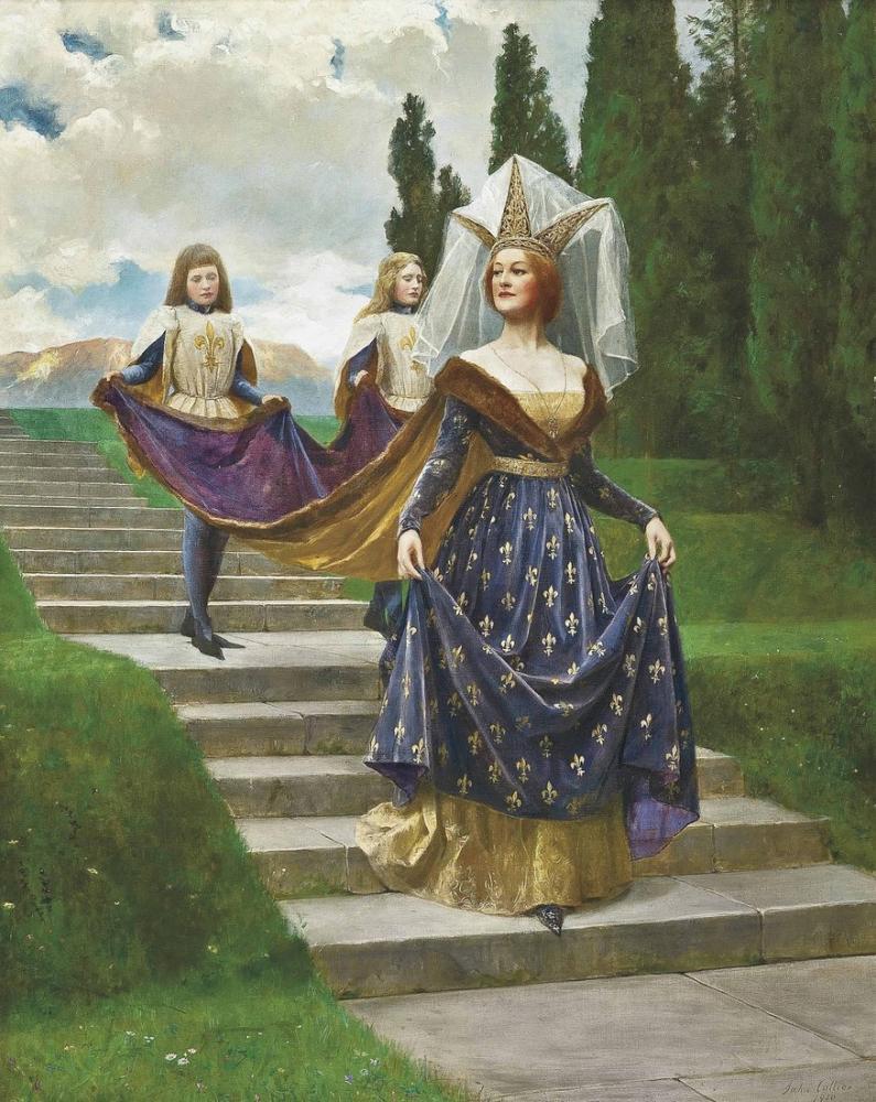 John Collier A Great Lady, Canvas, John Collier, kanvas tablo, canvas print sales