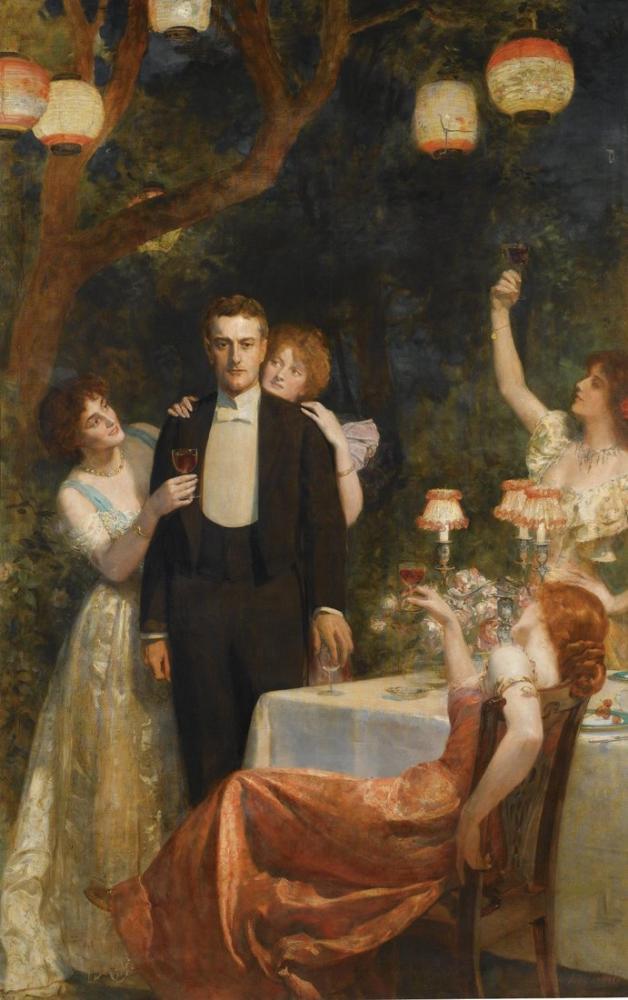 John Collier The Garden Of Armida, Canvas, John Collier, kanvas tablo, canvas print sales