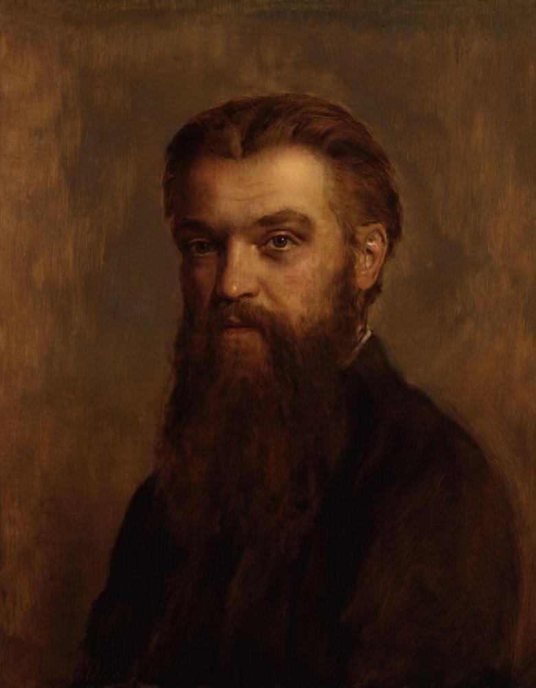 John Collier William Kingdon Clifford, Kanvas Tablo, John Collier, kanvas tablo, canvas print sales