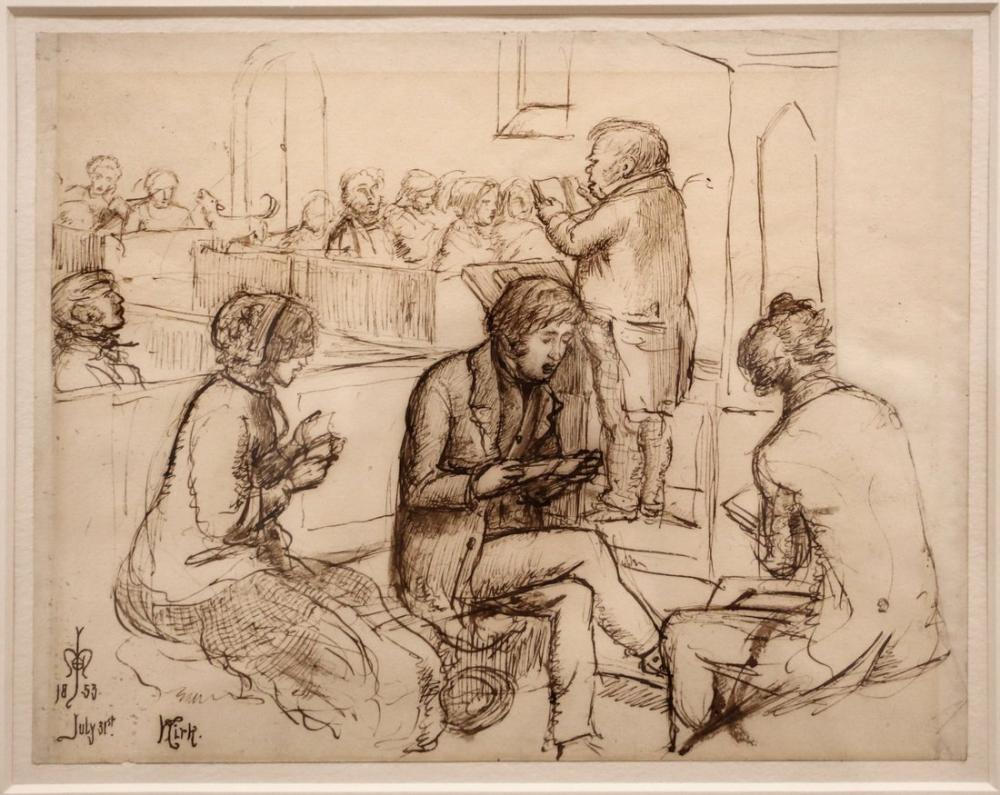 John Everett Millais Kirk, Canvas, John Everett Millais, kanvas tablo, canvas print sales
