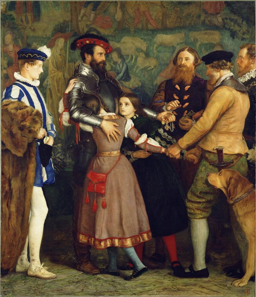John Everett Millais Fidye, Kanvas Tablo, John Everett Millais, kanvas tablo, canvas print sales