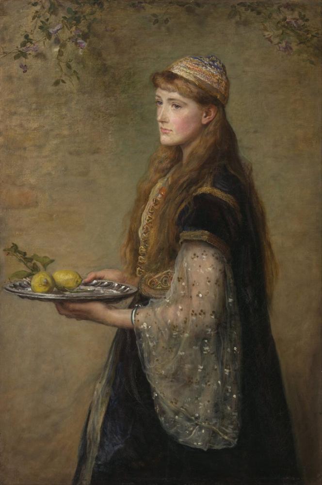 John Everett Millais Esir, Kanvas Tablo, John Everett Millais, kanvas tablo, canvas print sales