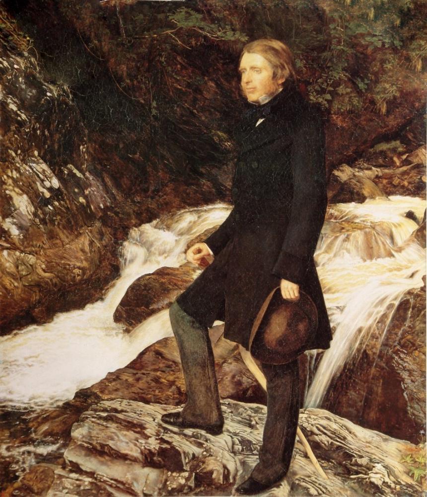 John Everett Millais John Ruskin, Kanvas Tablo, John Everett Millais, kanvas tablo, canvas print sales