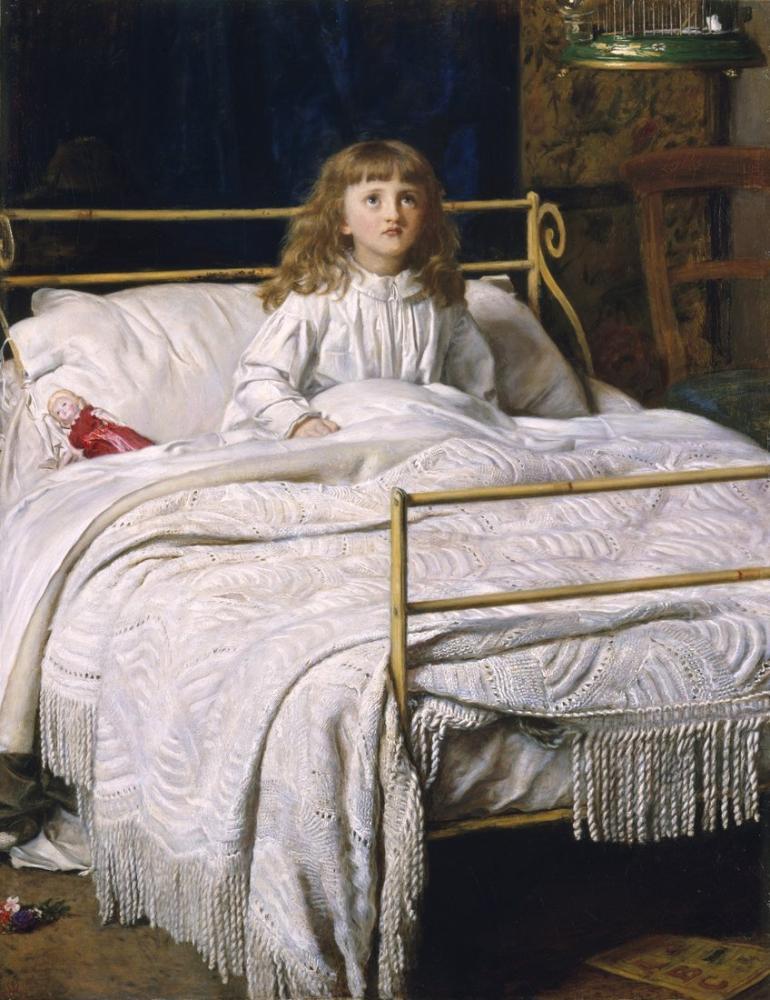 John Everett Millais Uyanış Perth, Kanvas Tablo, John Everett Millais, kanvas tablo, canvas print sales