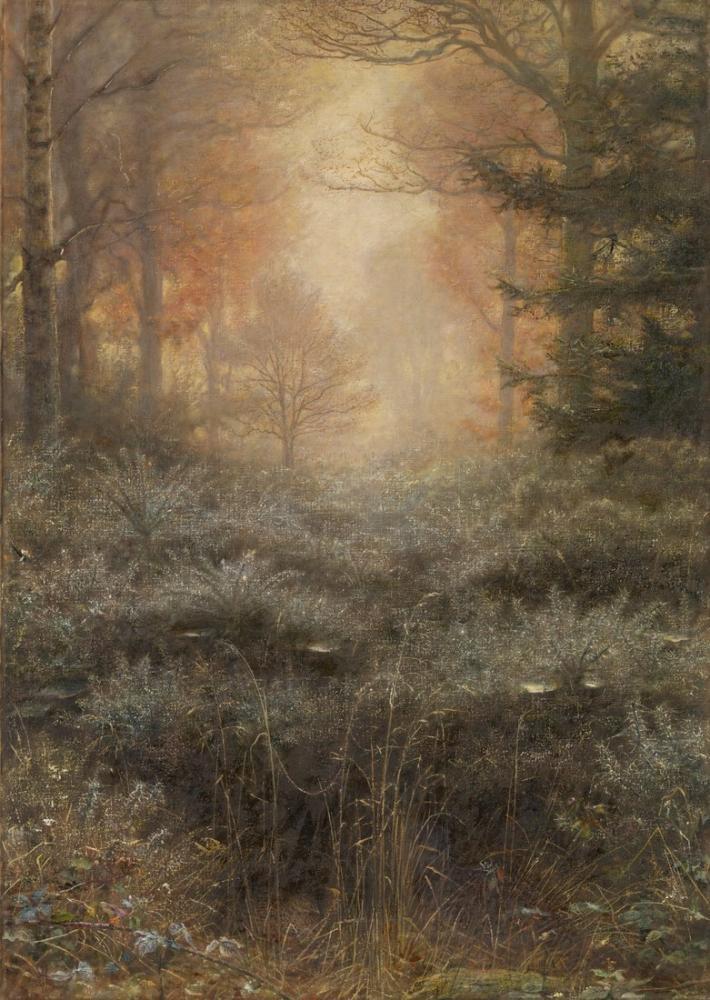 John Everett Millais Dew Drenched Furze, Canvas, John Everett Millais, kanvas tablo, canvas print sales