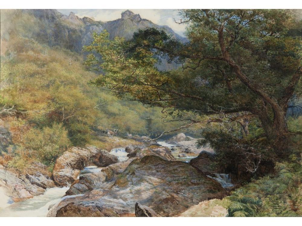 John Everett Millais Landscape, Canvas, John Everett Millais