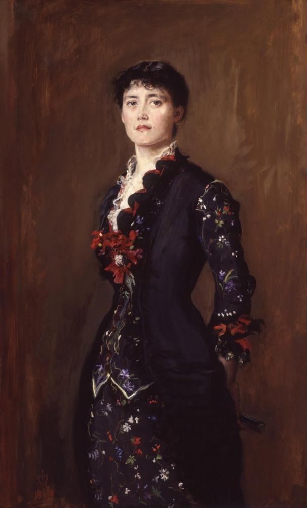 John Everett Millais Louise Jane Jopling, Kanvas Tablo, John Everett Millais, kanvas tablo, canvas print sales