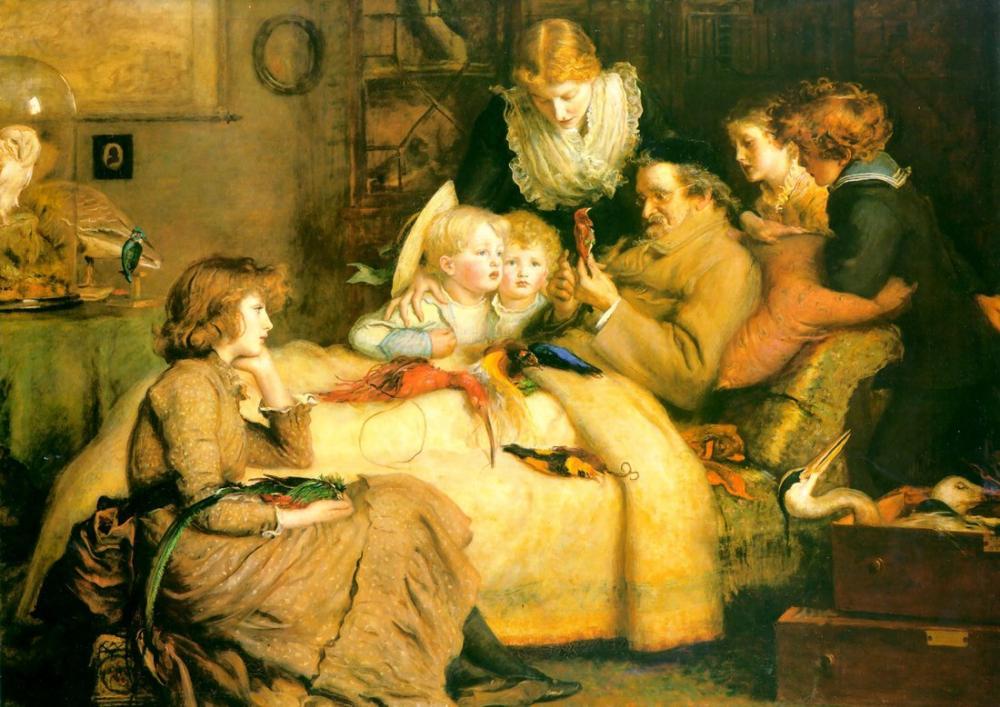 John Everett Millais İktidar Tutkusu, Kanvas Tablo, John Everett Millais, kanvas tablo, canvas print sales