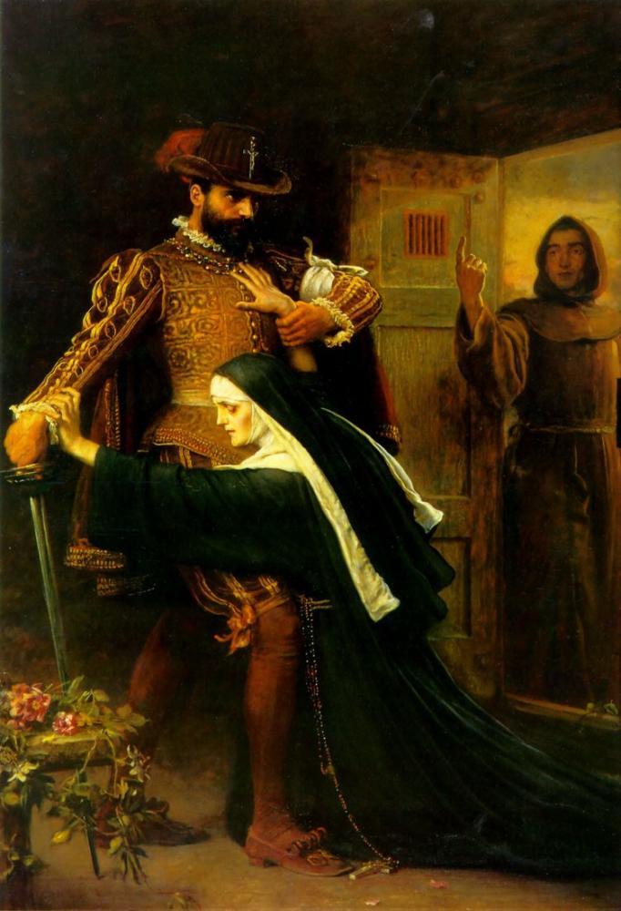 John Everett Millais St Bartholomew Günü, Kanvas Tablo, John Everett Millais, kanvas tablo, canvas print sales