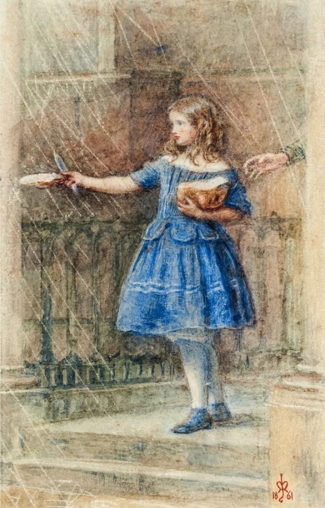 John Everett Millais Ursula Mart, Kanvas Tablo, John Everett Millais, kanvas tablo, canvas print sales