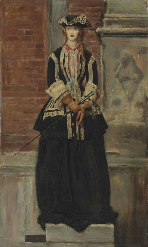 John Everett Millais Charlie Is My Darling, Canvas, John Everett Millais, kanvas tablo, canvas print sales