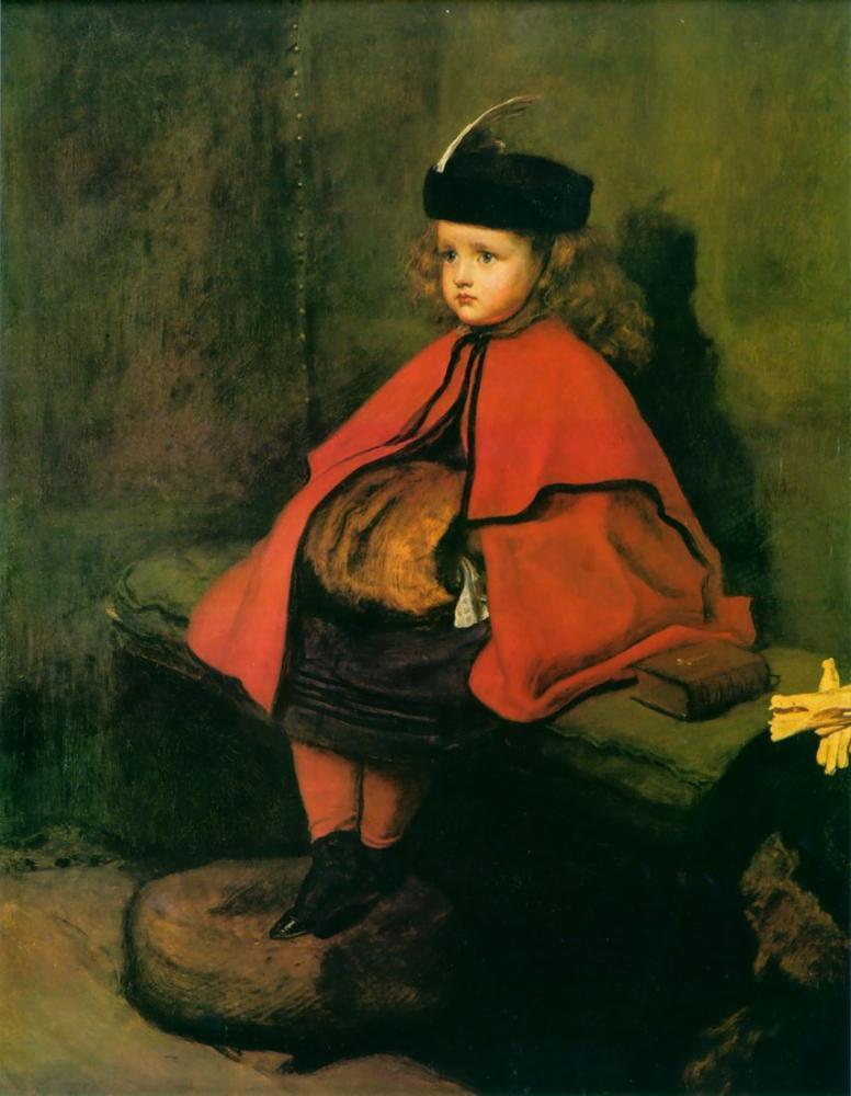 John Everett Millais İlk Vaazım, Kanvas Tablo, John Everett Millais, kanvas tablo, canvas print sales