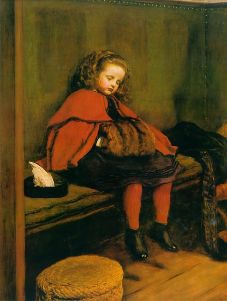 John Everett Millais İkinci Vaazım, Kanvas Tablo, John Everett Millais, kanvas tablo, canvas print sales