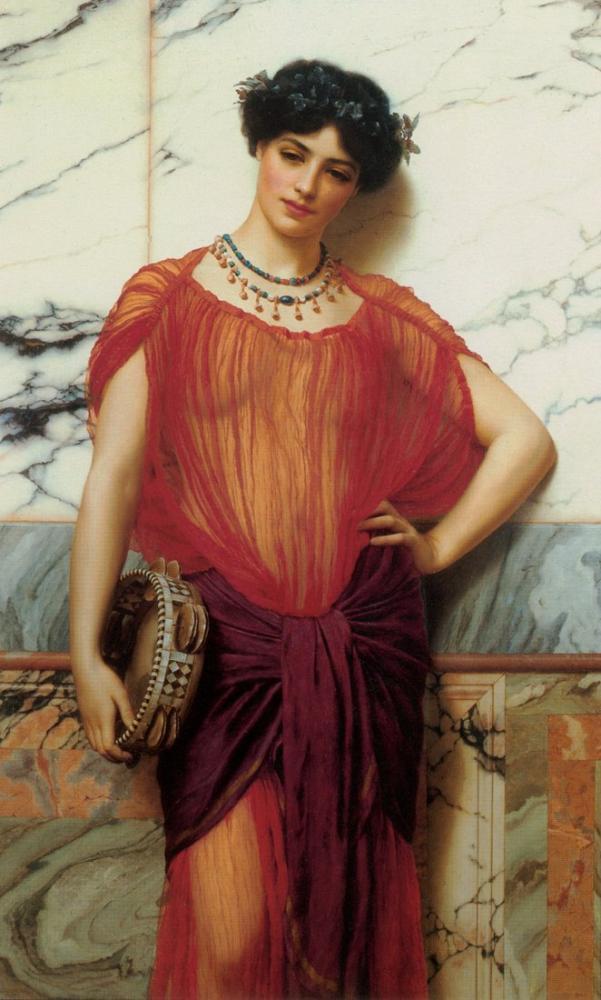 John William Godward Drusilla, Canvas, John William Godward, kanvas tablo, canvas print sales