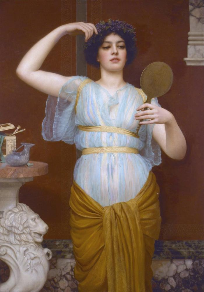 John William Godward İyon, Kanvas Tablo, John William Godward, kanvas tablo, canvas print sales