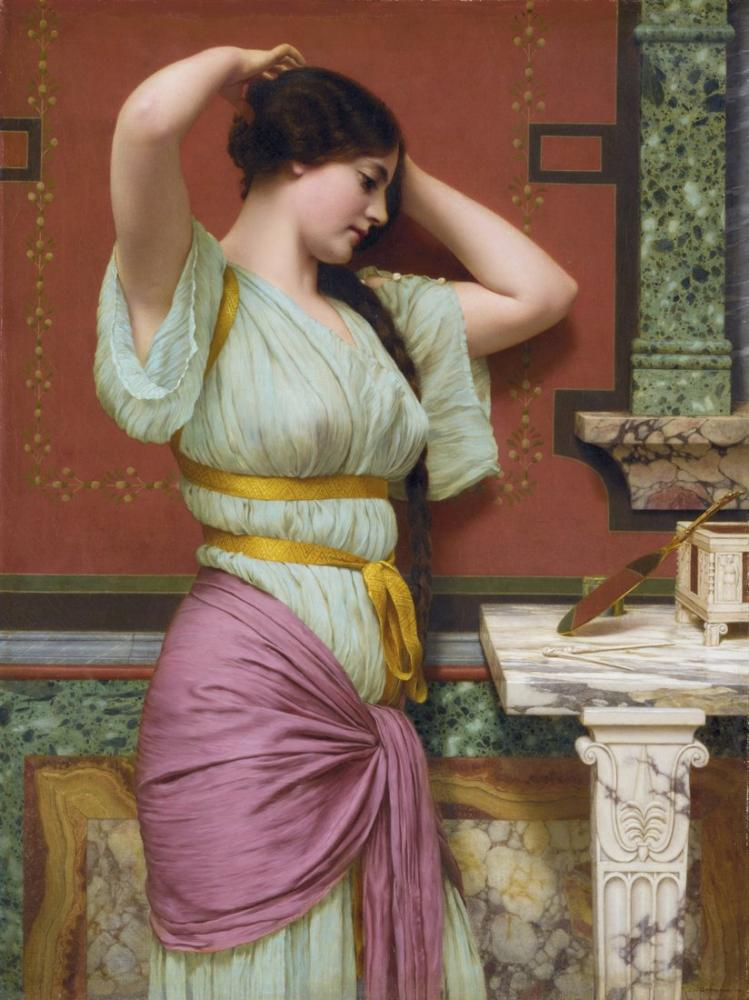 John William Godward Julia, Canvas, John William Godward, kanvas tablo, canvas print sales
