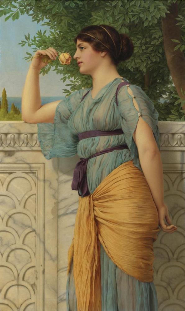 John William Godward Anılar, Kanvas Tablo, John William Godward, kanvas tablo, canvas print sales
