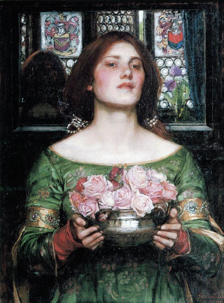 John William Waterhouse Beslendi O, Kanvas Tablo, John William Waterhouse, kanvas tablo, canvas print sales