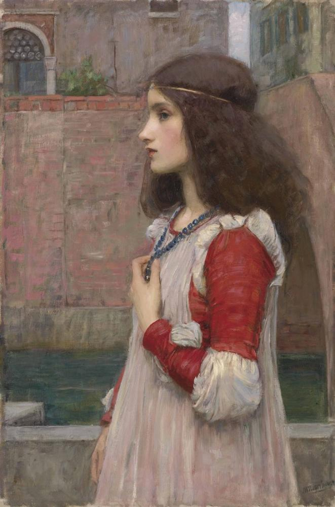 John William Waterhouse Juliet, Kanvas Tablo, John William Waterhouse, kanvas tablo, canvas print sales