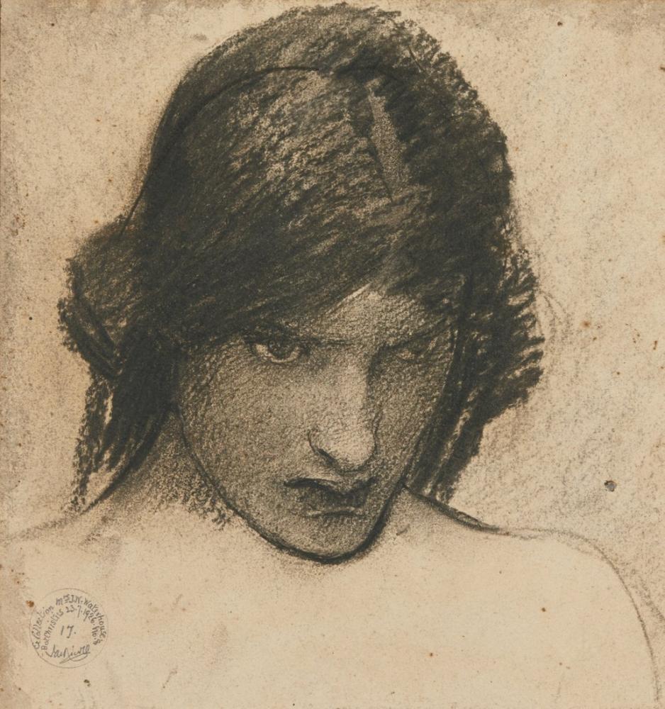 John William Waterhouse Kıskanç Circe İçin Çalışma, Kanvas Tablo, John William Waterhouse, kanvas tablo, canvas print sales