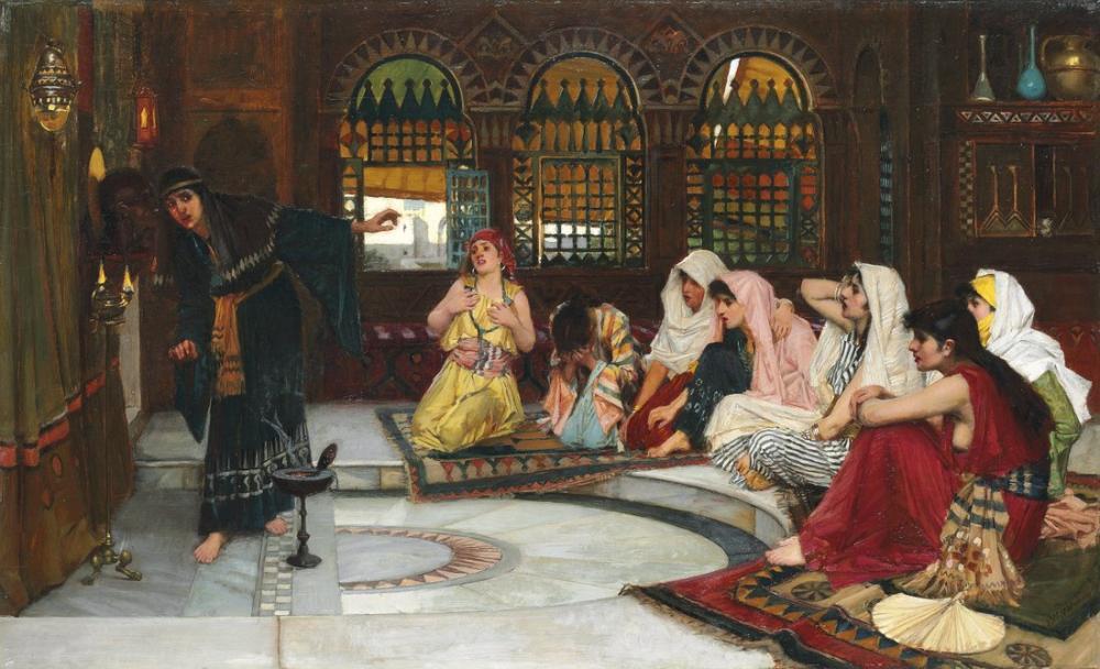 John William Waterhouse Oracle Danışmanlığı, Kanvas Tablo, John William Waterhouse, kanvas tablo, canvas print sales