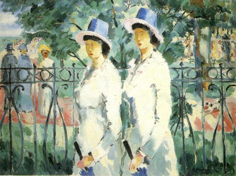 Kazimir Malevich Kız Kardeşler Yağlıboya Tablo, Kanvas Tablo, Kazimir Malevich, kanvas tablo, canvas print sales