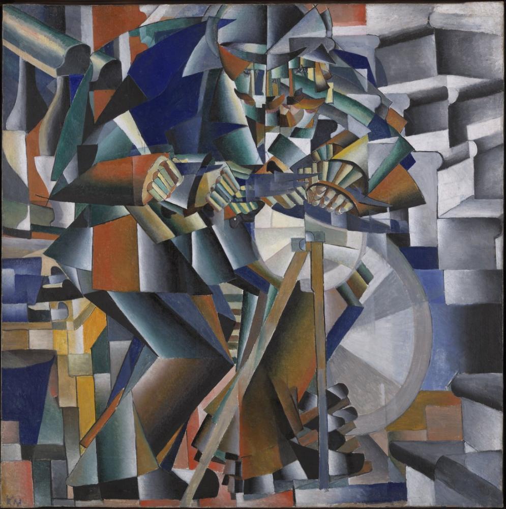 Kazimir Malevich Işıltılı Bıçak Öğütücü Prensibi, Kanvas Tablo, Kazimir Malevich, kanvas tablo, canvas print sales