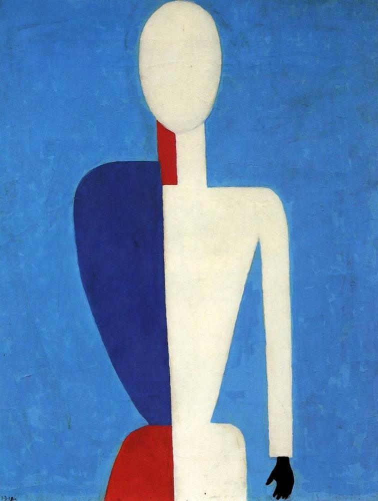 Kazimir Malevich Torso Transformation To A New Shape, Canvas, Kazimir Malevich, kanvas tablo, canvas print sales