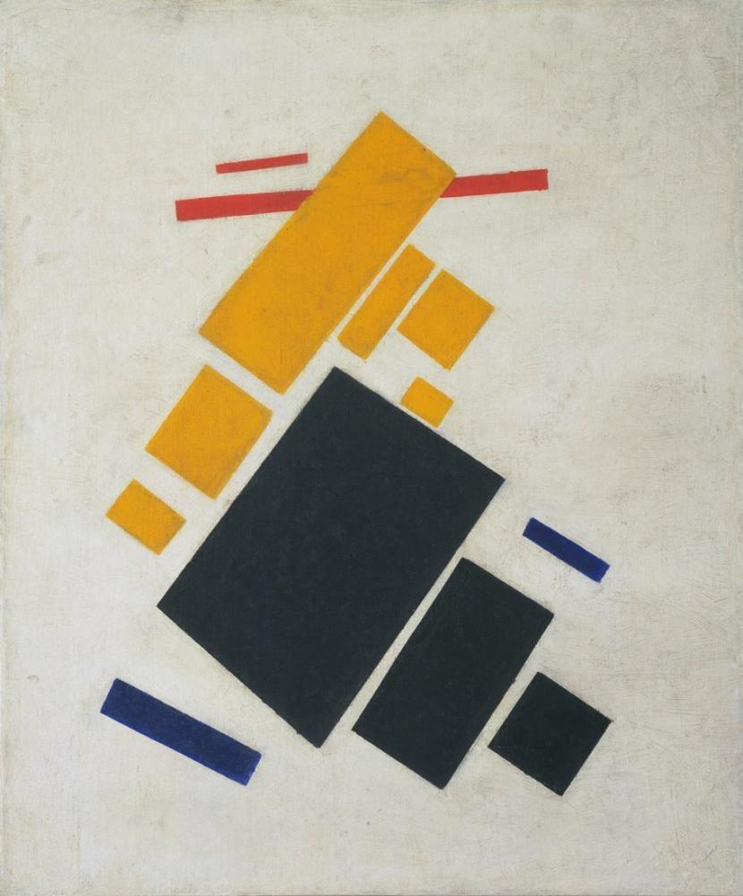 Kazimir Malevich Uçak Uçan, Kanvas Tablo, Kazimir Malevich, kanvas tablo, canvas print sales